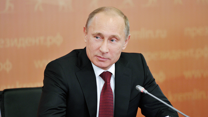 Russian President Vladimir Putin (AFP Photo)