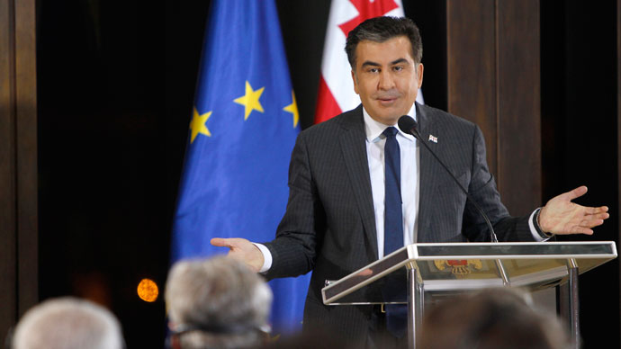 Saakashvili setback: Georgian parliament votes to limit presidential powers