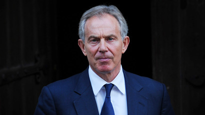 Former British prime minister Tony Blair (AFP Photo / Carl Court)