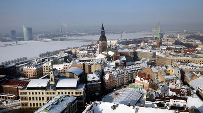 View of Riga's Old City in snow.(Reuters / Ints Kalnins)