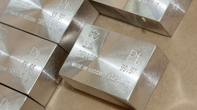 Platinum Opec Russia S Africa Hint At Precious Metals