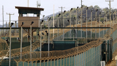 The exterior of Camp Delta is seen at the U.S. Naval Base at Guantanamo Bay, March 6, 2013.  (Reuters/Bob Strong)