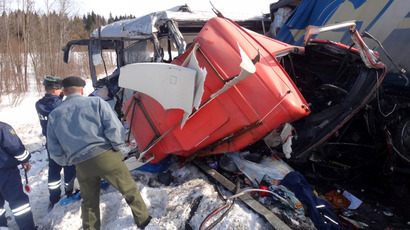 Kids feared among 21 dead in Siberia copter crash