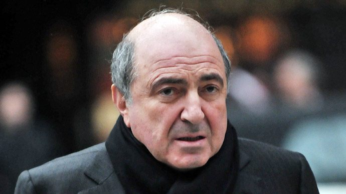Russian tycoon Boris Berezovsky  (AFP Photo/Carl de Souza)