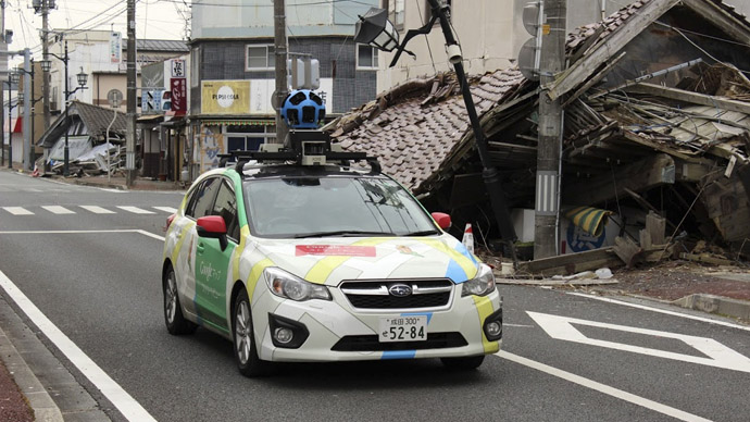 Google Maps offers virtual tour of Japanese ghost town near Fukushima