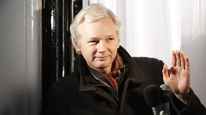 WikiLeaks founder Julian Assange (Reuters/Luke MacGregor)
