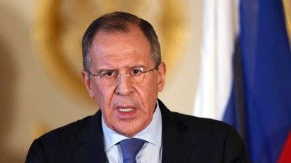 Russian Foreign Minister Sergei Lavrov (AFP Photo)