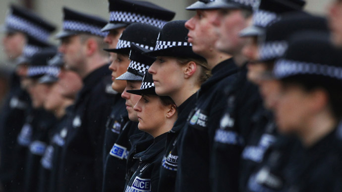 UK police: We can't solve the crime, but have some flowers!