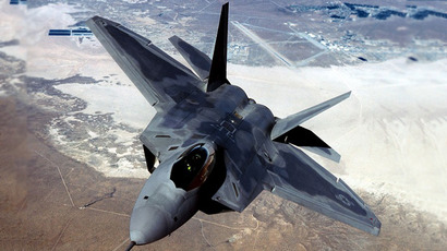 Fighter F-22 Raptor. (AFP Photo / USAF)