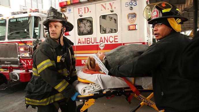 New York paramedics post helpless patients' photos online