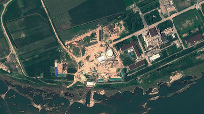 Yongbyon Nuclear Scientific Research Centre in North Korea. North Korea.(AFP Photo / GeoEye Satellite Image)