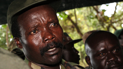 Leader of the Lord's Resistance Army (LRA), Joseph Kony (AFP Photo / Stuart Price)