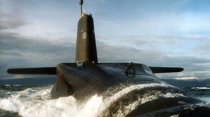 British submarine HMS Vanguard (AFP Photo/MOD © Crown Copyright/LA)