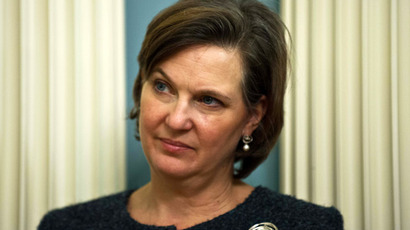 State Department spokesperson Victoria Nuland (AFP Photo)