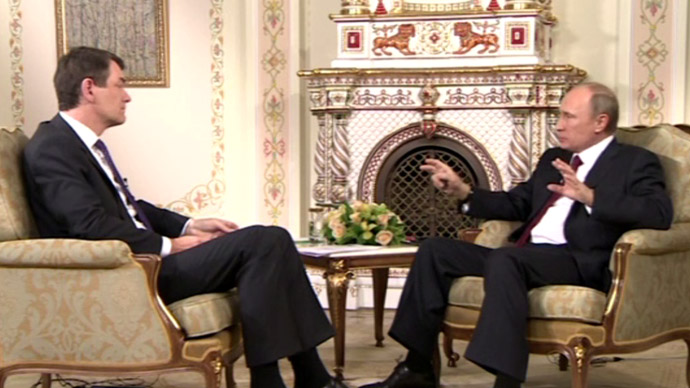 Putin talks to German TV: FULL TEXT