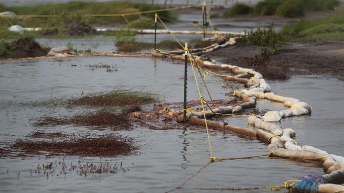 Third major oil spill in a week: Shell pipeline breaks in Texas
