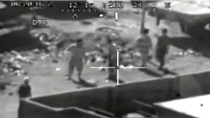Screenshot from WikiLeaks Collateral murder video