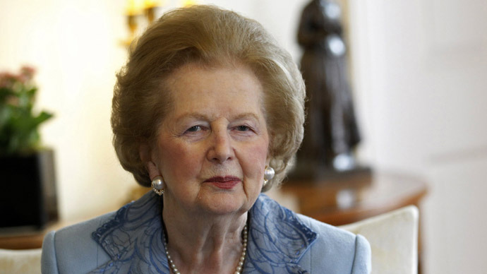 margaret thatcher dies rt world news. Black Bedroom Furniture Sets. Home Design Ideas