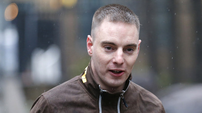 Ryan Ackroyd, 26, arrives at Southwark Crown Court in central London, April 9, 2013. (Reuters / Andrew Winning)