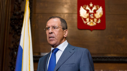 Russian Foreign Minister Segei Lavrov.(AFP Photo / Leon Neal)