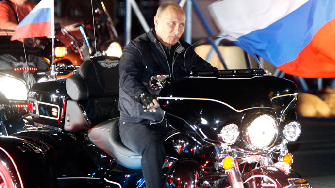 Finland's most wanted? Putin's biker connections put him on secret blacklist