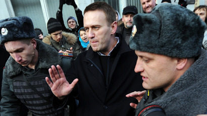 Navalny-backed political party has registration suspended