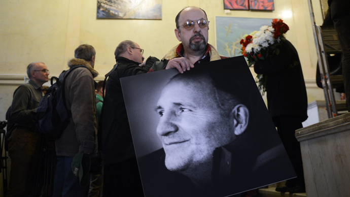 Russia buries journalist and eco-campaigner who died after beating