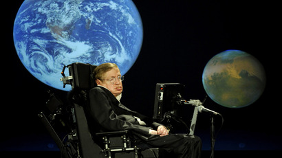 Stephen Hawking (AFP Photo / NASA / Paul E. Alers / HO)