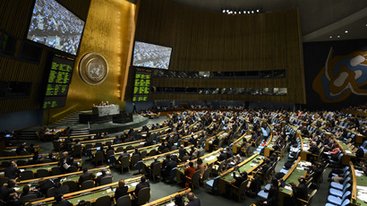 UN General Assembly (AFP Photo / Timothy A. Clary)