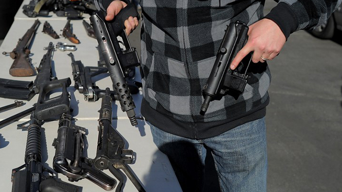 US firearms lobby divided over 'gutted' gun-control bill