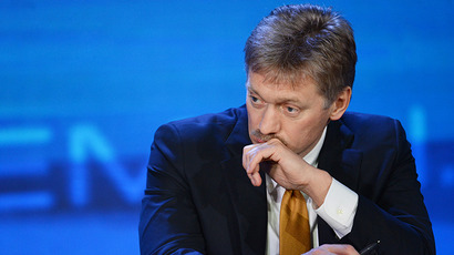 Russian President's press secretary Dmitry Peskov. (AFP Photo / Alexei Nikolskiy)