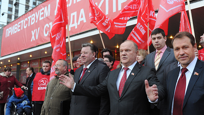 Russian Communist Party threatens Medvedev with govt dissolution