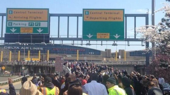 NYC's LaGuardia Airport terminal evacuated after suspicious package found