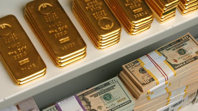 560 Billion Wiped Of Central Banks Reserves On Gold