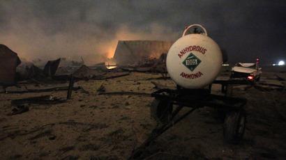 Blast plant fined for lack of risk management plan, claimed 'no fire danger'