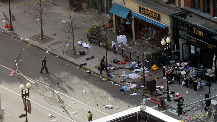FBI wants to interview 2 men over Boston bombing, but has no 'suspects'