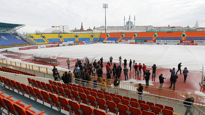 2018 World Cup may bankrupt Russian cities - S&P