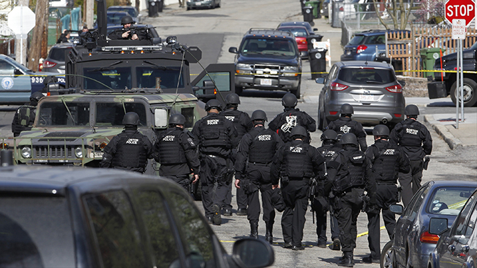 Boston manhunt: Search continues as residents remain on lockdown