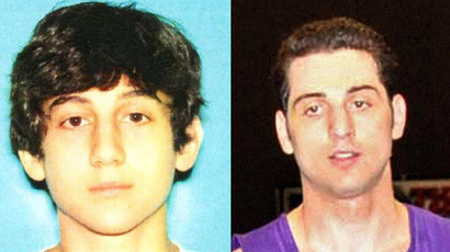 Tsarnaev brothers (FBI/AFP)