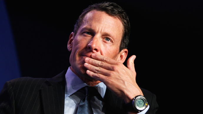 Lance Armstrong (Reuters / Lucas Jackson)