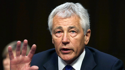 US Defense Secretary Chuck Hagel (AFP Photo/Mark Wilson/Getty Images/AFP)