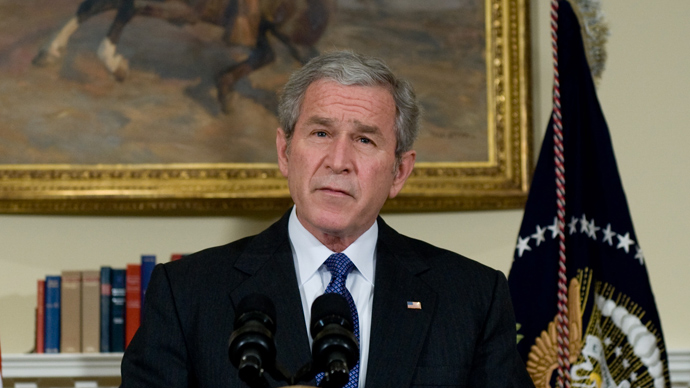 George W. Bush (AFP Photo / Saul Loeb)