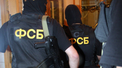 Federal Security Service officers (RIA Novosti/Andrey Stenin)