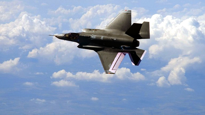 The F-35 Joint Strike Fighter, built by Lockheed Martin Corp. (AFP Photo)