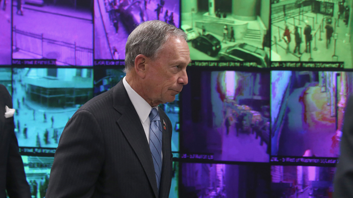 Bloomberg: New Yorkers will 'never know where our cameras are'