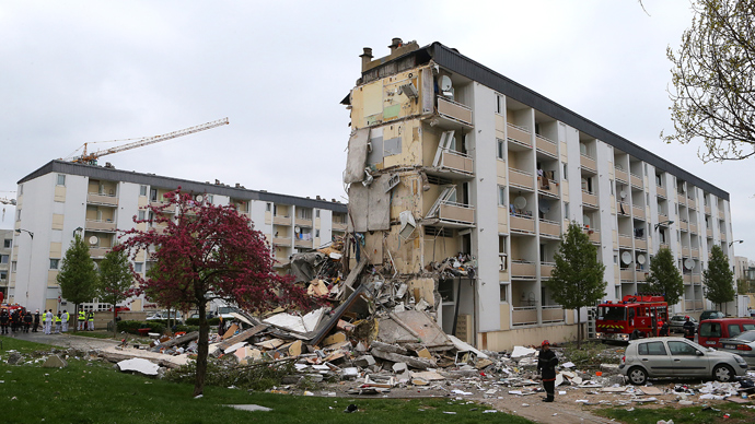 3 dead, 14 injured in France building collapse (PHOTOS)