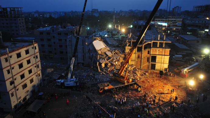 Fire kills 'last survivor' in Bangladesh building collapse