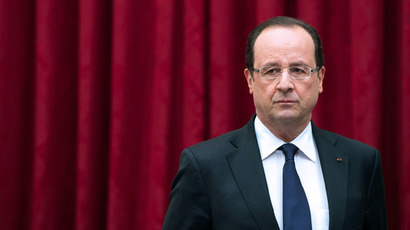 France's President Francois Hollande (Reuters/Bertrand Langlois)