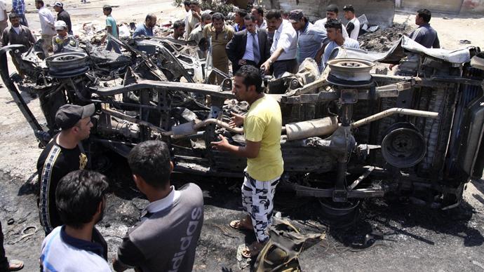 String of violent attacks rock Iraq, killing 23