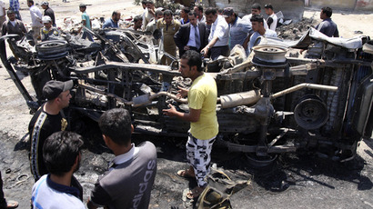Dozens killed in string of Baghdad bombings